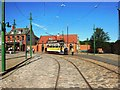 NZ2155 : Tram Car on the Village Street by Bill Henderson