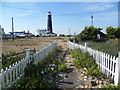 TR0816 : Path to an artist's studio at Dungeness by Marathon