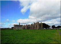 NU1241 : The Ruins of Lindisfarne Priory by Bill Henderson