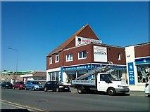TQ4100 : Martlets Hospice Shop, South Coast Road, Newhaven by PAUL FARMER