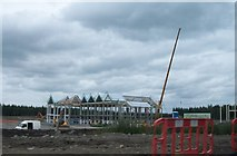 N3322 : New Tullamore Dew factory under construction by Eric Jones