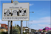NT1972 : Welcome to Corstorphine by Leslie Barrie