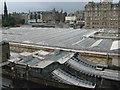 NT2573 : Waverley Station Roof by M J Richardson