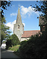 SP1170 : Tower and steeple of St Mary Magdalene, Tanworth-in-Arden by Robin Stott
