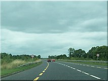 N4138 : View north along the N52 north of Tyrrellspass by Eric Jones