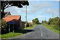 NZ1327 : Minor road reaching Wind Mill by Trevor Littlewood