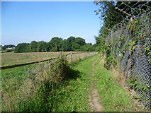 TQ1662 : Footpath to Winey Hill by Marathon