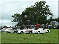 SJ1901 : Berriew Show - classic cars and elderly tractors by Penny Mayes