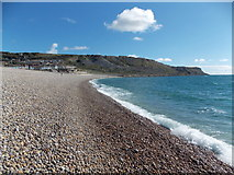 SY6873 : Portland: Chesil Cove by Chris Downer