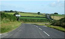 SW7552 : Cornwall B3284 Turning For Penwartha by Roy Hughes