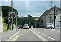 SW7853 : Cornwall Goonhavern Turning For Bodmin by Roy Hughes