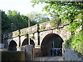 NT2575 : Former railway bridge over Warriston Road by Stephen Craven