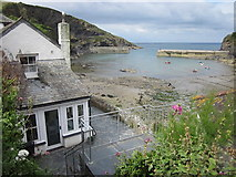 SW9980 : Port Isaac Harbour by Roy Hughes