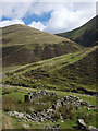 SD6597 : Ruin, Long Rigg Beck by Karl and Ali