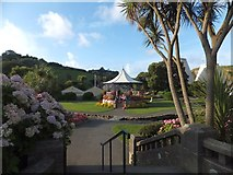 SS5147 : Bandstand in the gardens in Wilder Road. Ilfracombe by David Smith