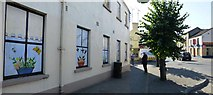N9690 : Decorated panels along Castle Street, Ardee by Kenneth  Allen