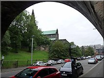 NS6065 : Glasgow Cathedral from Wishart Street by Alan Reid