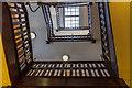 SO0661 : Stairwell, Hotel Metropole, Llandrindod Wells, Powys by Christine Matthews