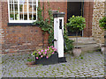 SK8832 : Village pump, Harlaxton by Alan Murray-Rust