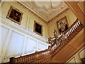 SK9239 : Belton House, Stairs by David Dixon
