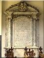 SK9239 : John Browlow Memorial, Belton Church by David Dixon