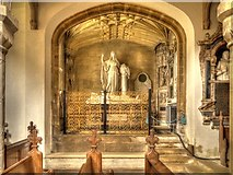 SK9239 : The Parish Church of St Peter and St Paul, North Memorial Chapel by David Dixon