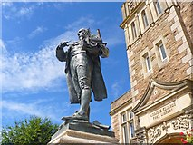 SW6439 : Richard Trevithick Statue, Camborne by Mike Smith