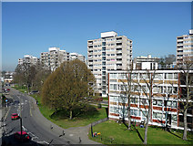 TQ2273 : Alton West Estate, Danebury Avenue by Stephen Richards