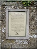 NY9393 : History of Elsdon Tower by Stanley Howe
