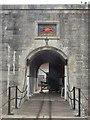 SZ3189 : Hurst Castle: main entrance by Chris Downer