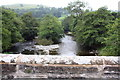 SD6196 : River Lune seen over the Crook of Lune Bridge by Roger Templeman