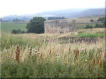 NY9084 : Foundry engine house, Ridsdale by Stanley Howe