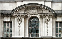 SJ8989 : Edward Street entrance - architectural detail by Gerald England