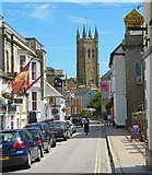 SW4730 : Chapel Street, Penzance by Mike Smith