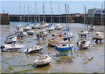 SW4730 : Penzance Harbour by Mike Smith