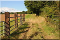 SO8562 : Field entrance by Philip Halling