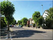 SZ1593 : Christchurch:  Stour Road (bus stop) by Dr Neil Clifton