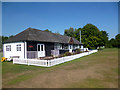 SU9497 : Pavilion, Amersham Cricket Club by Des Blenkinsopp