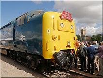 SK9135 : Deltic Locomotive at Grantham Festival of Speed by David Dixon