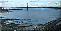 NT1378 : South Queensferry and the Forth Road Bridge by Thomas Nugent