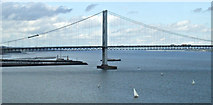 NT1279 : The Forth Road Bridge by Thomas Nugent