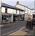 SO2508 : Broad Street shops, Blaenavon by Jaggery