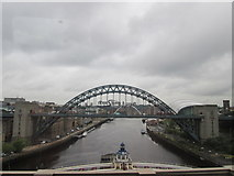 NZ2563 : Bridges over the River Tyne by John Slater