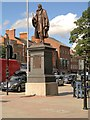 SK9135 : Statue of Frederick Tollemache, Grantham by David Dixon