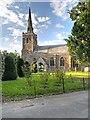 SK8736 : Barrowby, All Saints' Church by David Dixon