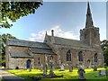 SK8736 : All Saints' Church, Barrowby by David Dixon