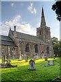SK8736 : Barrowby Church by David Dixon