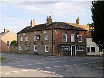 SK8836 : Barrowby, The White Swan by David Dixon