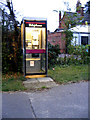 TM1383 : Burston Telephone Box by Adrian Cable