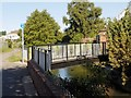 SK9235 : River Witham Footbridge by David Dixon